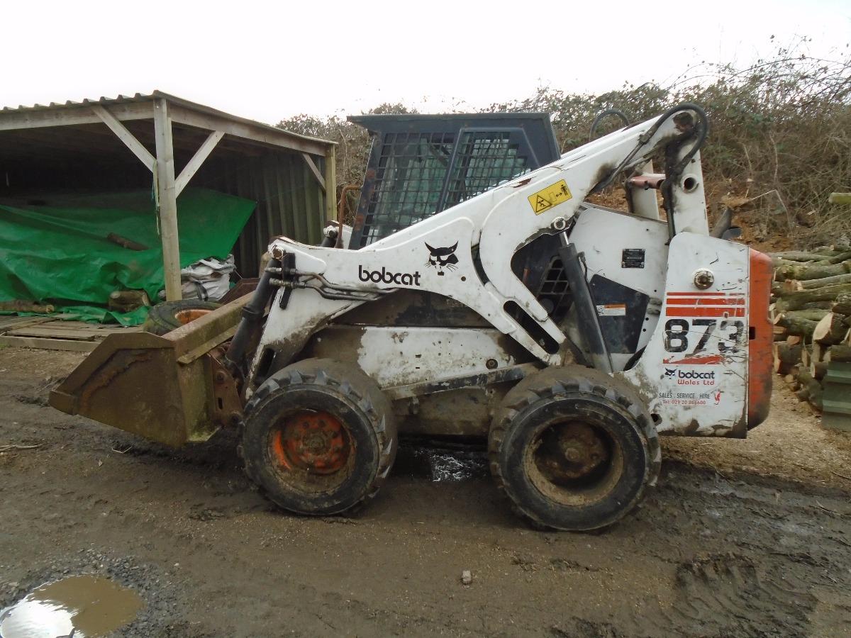 873 bobcat engine - Bobcat 873 Skid Steer Loader Kubota Engine