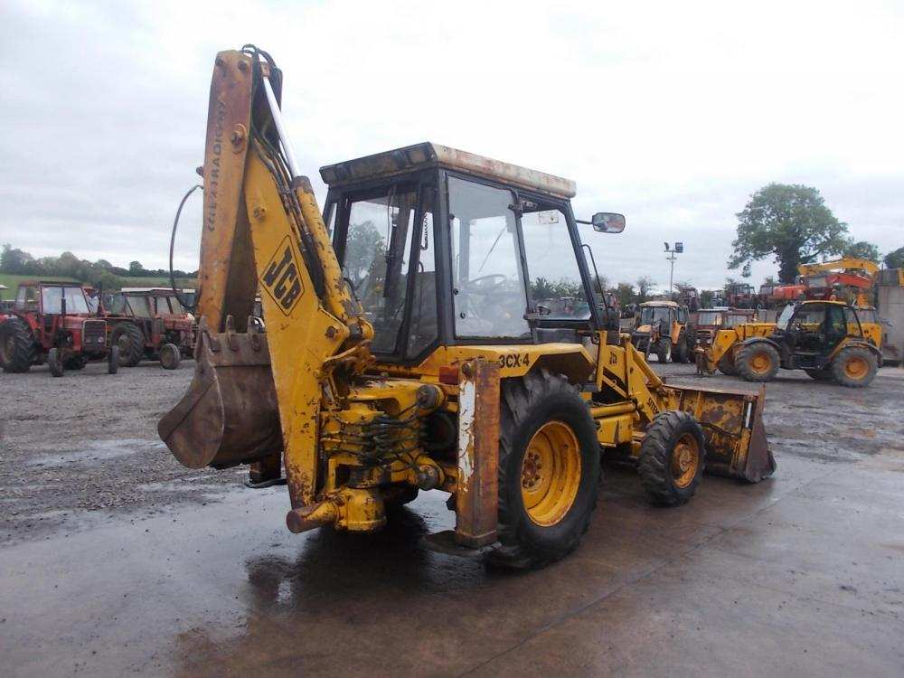 Digger Bidder 1990 Jcb 3cx Backhoe Loader